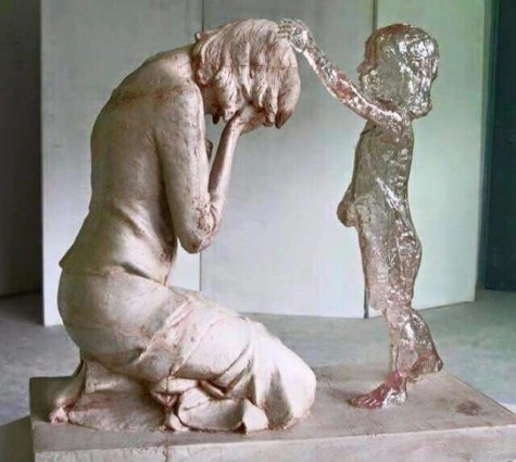 miscarriage statue