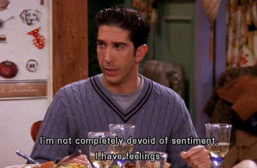 ross feelings