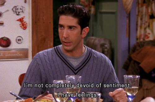 ross feelings
